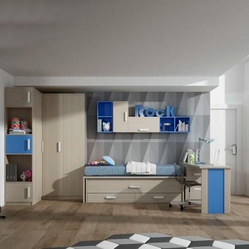 Habitación Juvenil 100-C01